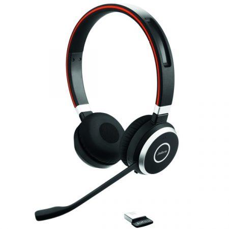 Jabra Evolve 65 Stereo (6593-823-309) Telephone Headsets