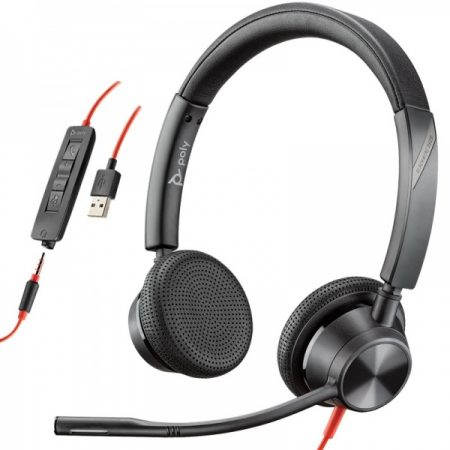 Poly 3325 USB 3.5mm headset from IP Connect Ireland